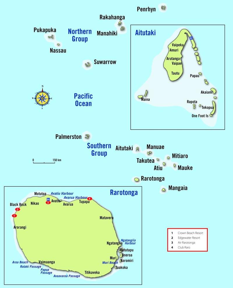 Остров кука где находится